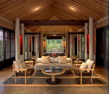 Pool Pavilion Living Area
